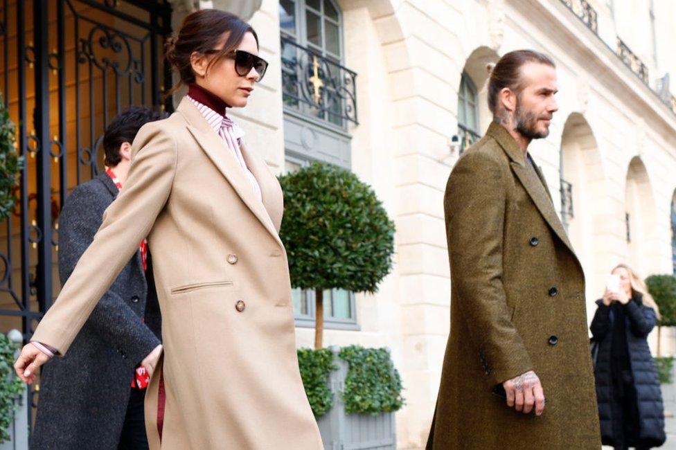 Mrs Beckham controls the company with husband David