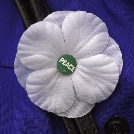 The white peace poppy