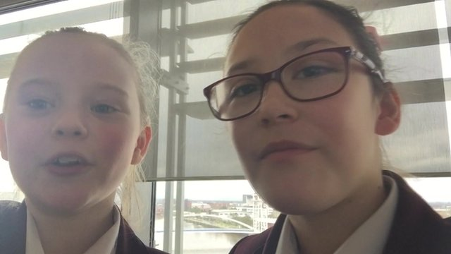School Reporters learn to code