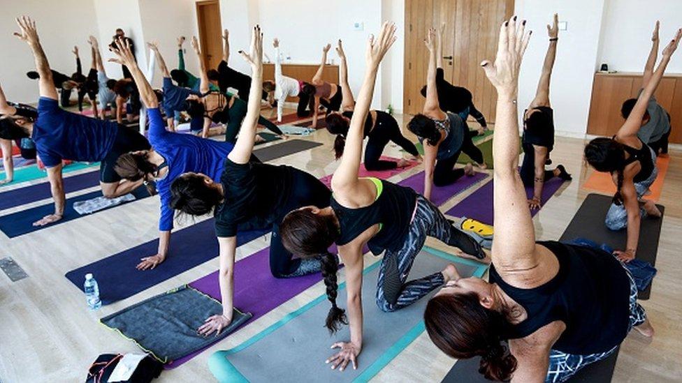 Yoga yapanlar