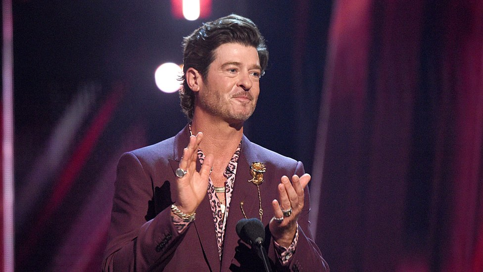 Image shows Robin Thicke