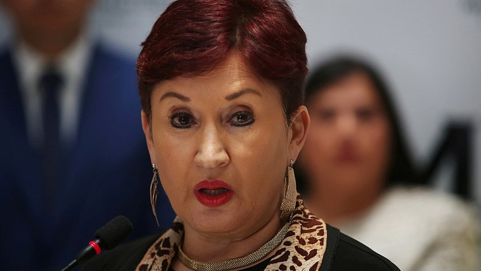 La exfiscal Thelma Aldana en agisto de 2017.