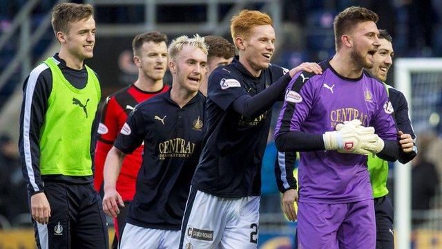 Highlights - Falkirk 2-1 Rangers