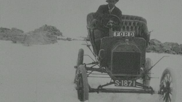 Model-T ford air Beinn Nibheis
