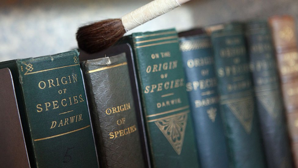 """Varios tomos de """"El orifen de las especies"""""""