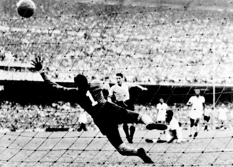 Gol en el Maracanazo