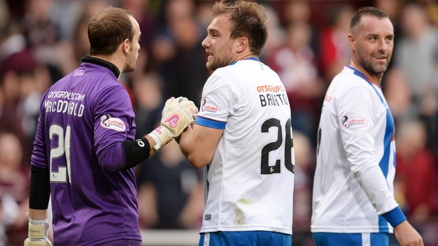 Highlights - Hearts 1-1 Kilmarnock
