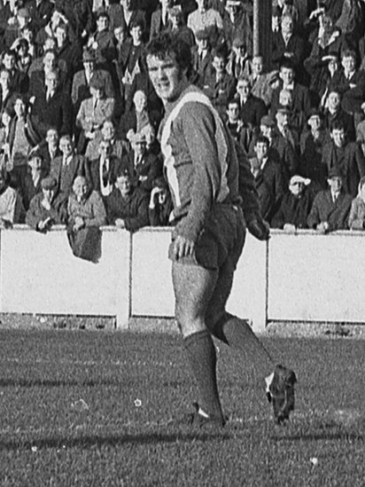 Tommy Ross at Wigan