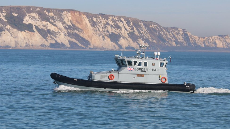 Three boats with 36 migrants found off Kent coast