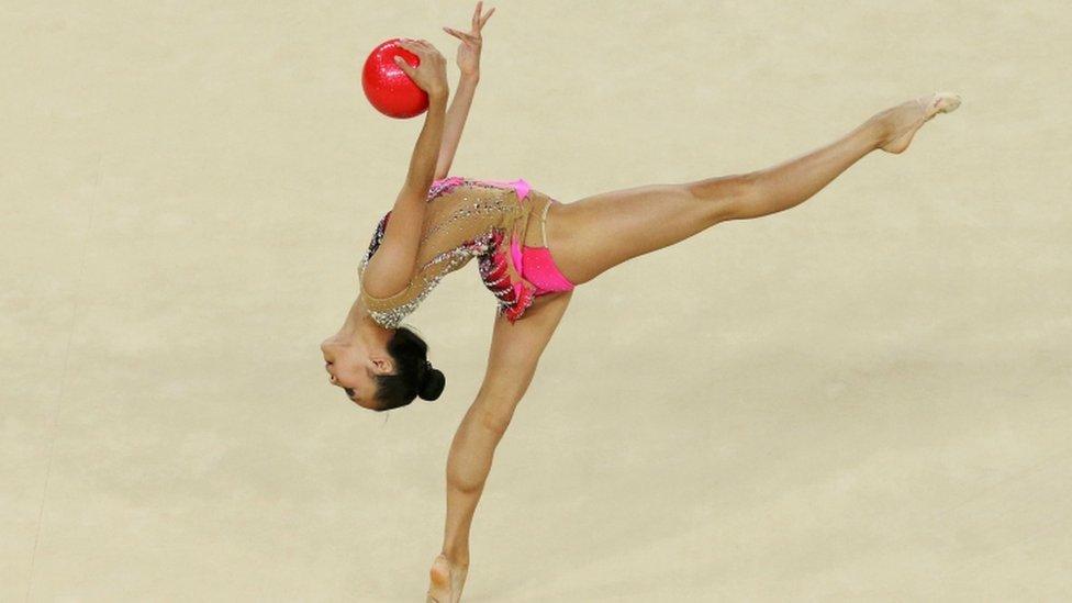 Laura Zeng de EE.UU. en los Juegos Olímpicos de Río 2016.