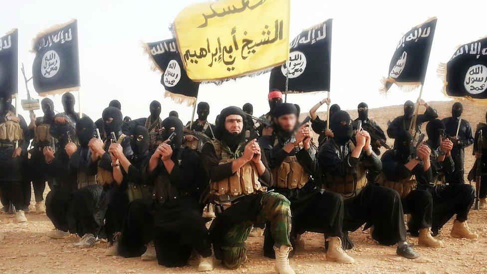 Imagen de propaganda del autodenominado Estado Islámico