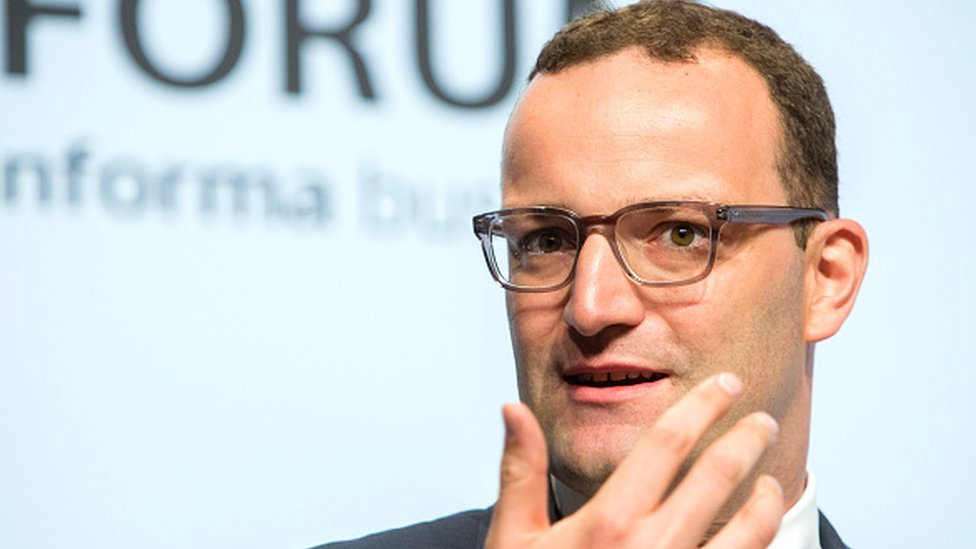 Jens Spahn, Germany's deputy finance minister