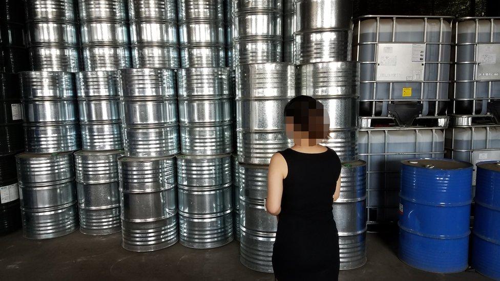 Los investigadores encontraron barriles de compuestos químicos en China que contenían CFC-11.
