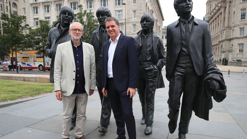Jeremy Corbyn and Steve Rotheram