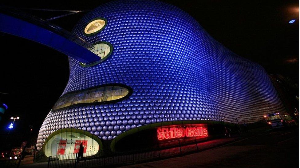 Selfridges at Birmingham's Bullring shopping centre