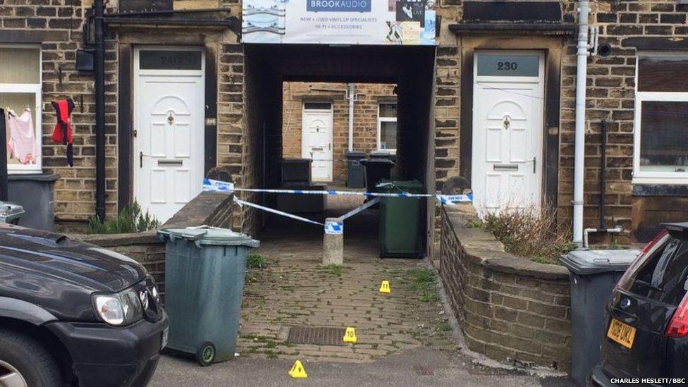 Huddersfield stabbing