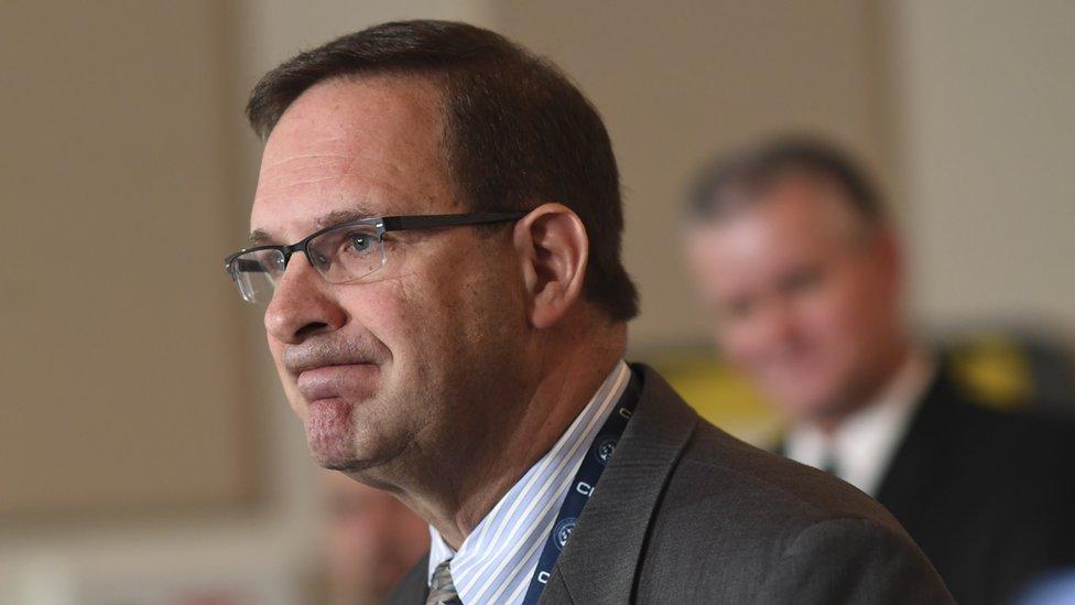 John Camper, director del Buró de Investigaciones de Colorado