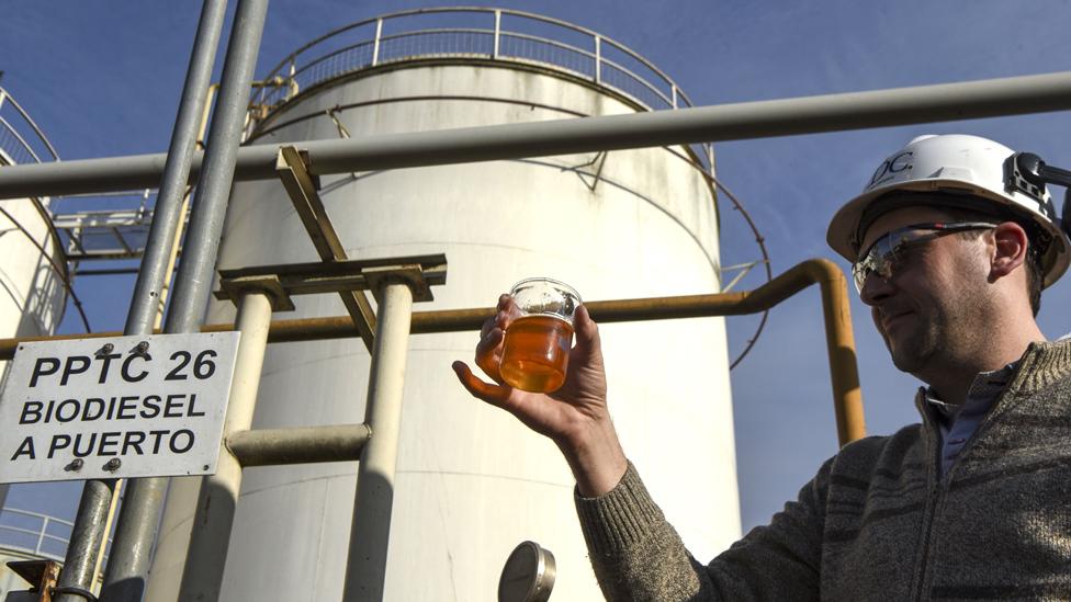 Fabrica de biodiesel en Argentina