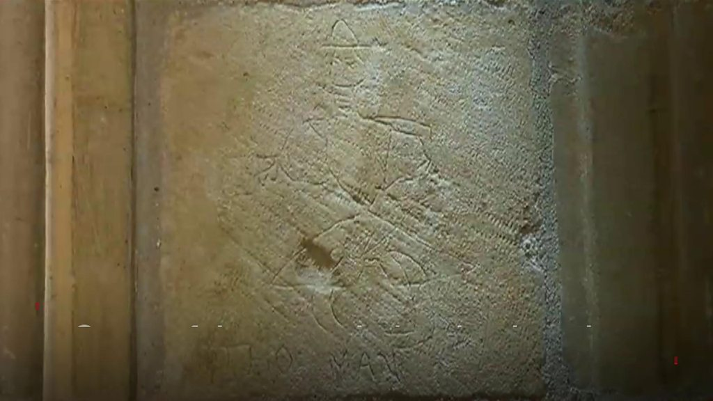'Thousands' of ancient graffiti carvings found at cathedral