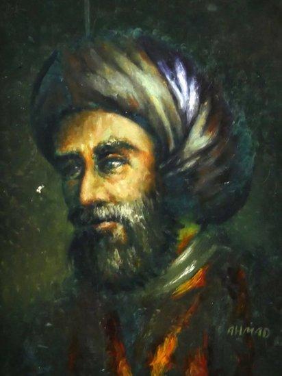 Portrait of Muhammad ibn Musa al-Khwarizmi