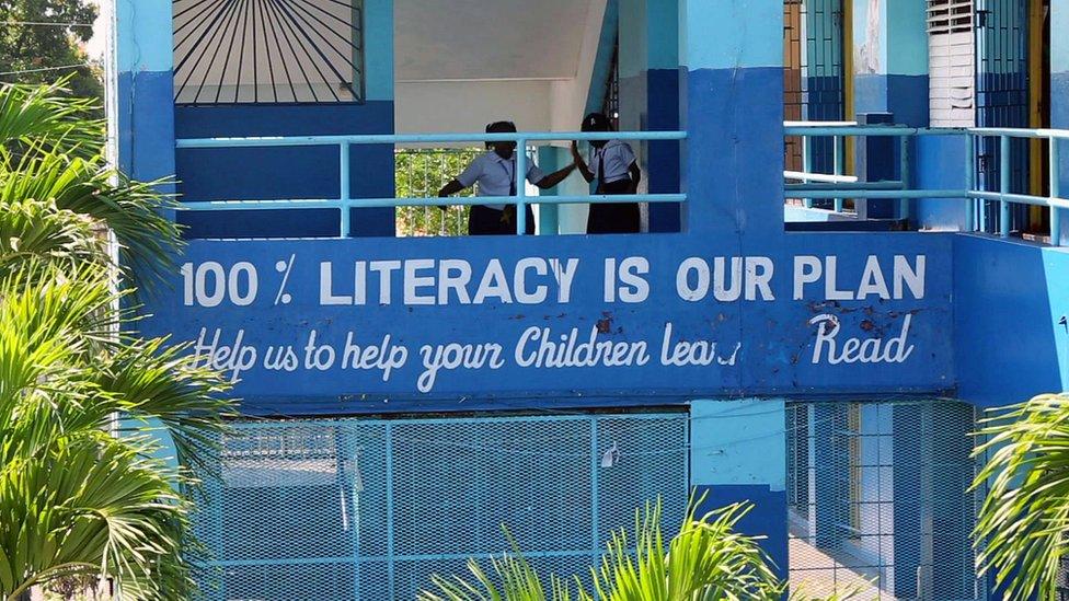 School in Kingston, Jamaica