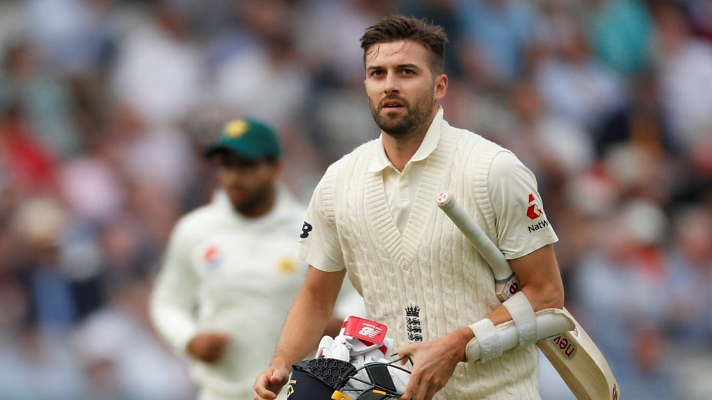 England v Pakistan: England collapse to 184 all out