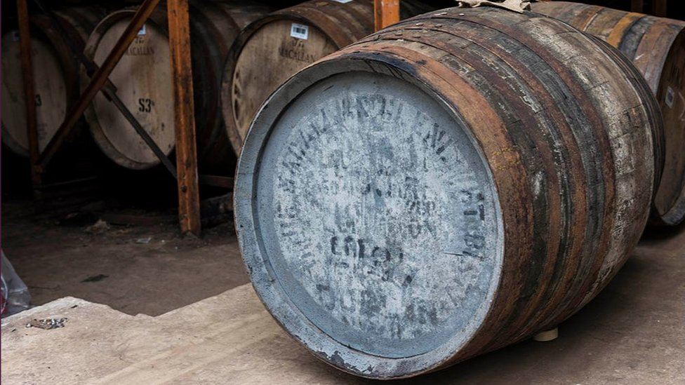 Macallan cask sold at auction in Hong Kong for £285,000