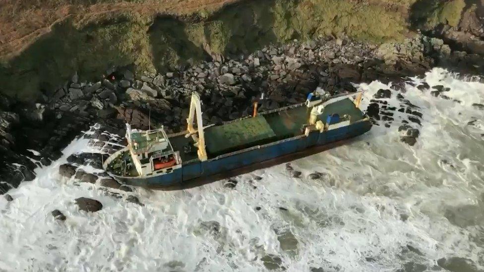 El buque de carga de 80 metros de eslora fue visto por última vez a miles de kilómetros de distancia en 2019.