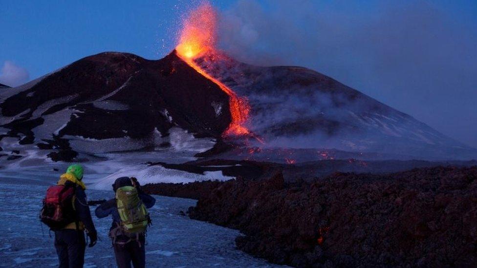 erupcija Etne