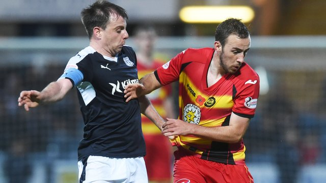 Highlights: Dundee 1-1 Partick Thistle