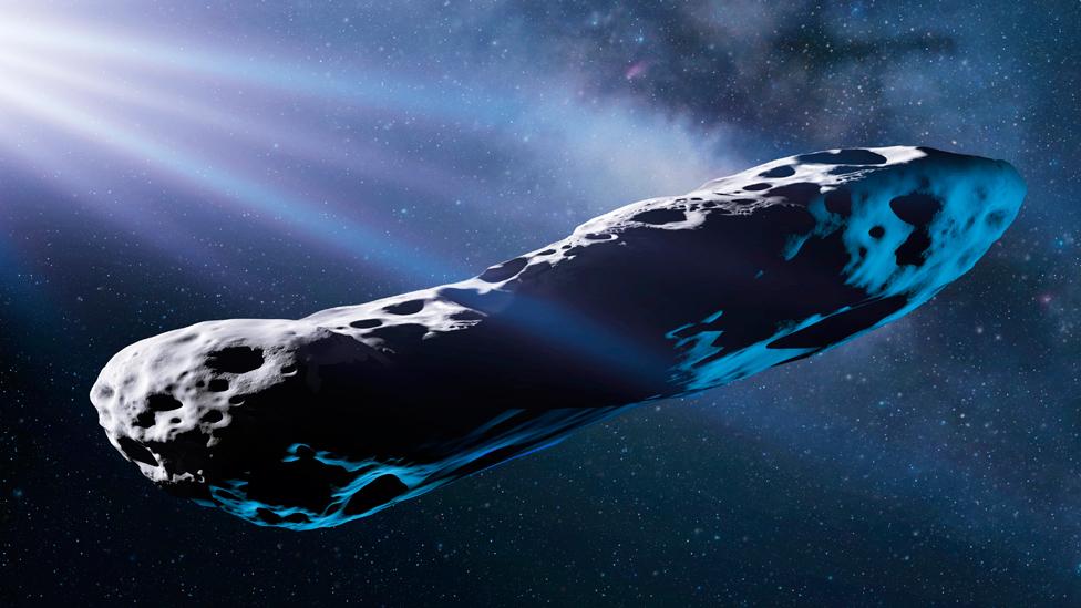 'Oumuamua: 'space cigar's' tumble hints at violent past