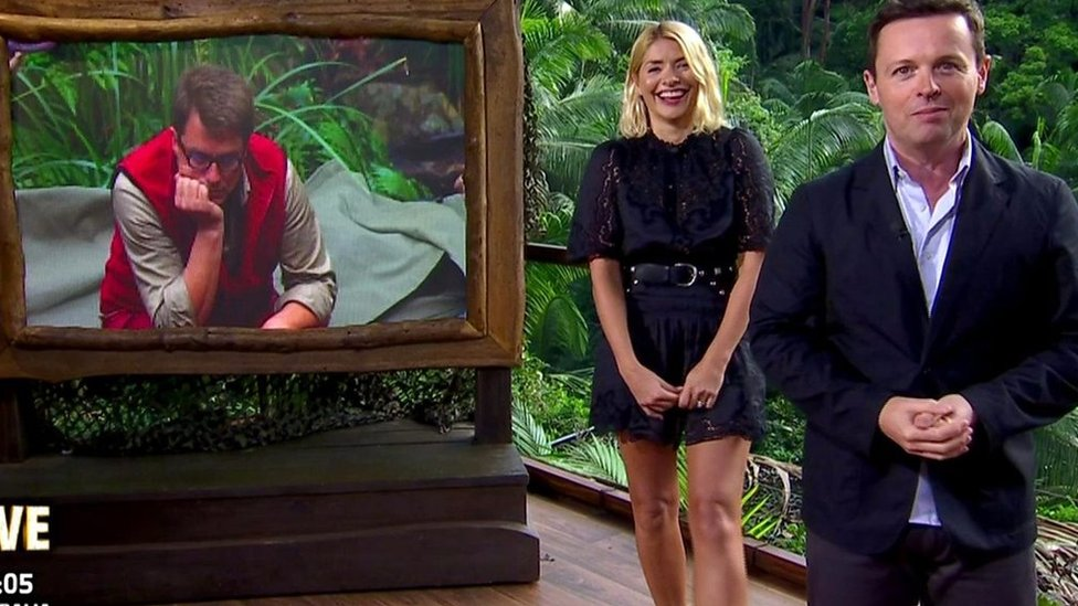I'm a Celebrity debut for Holly Willoughby