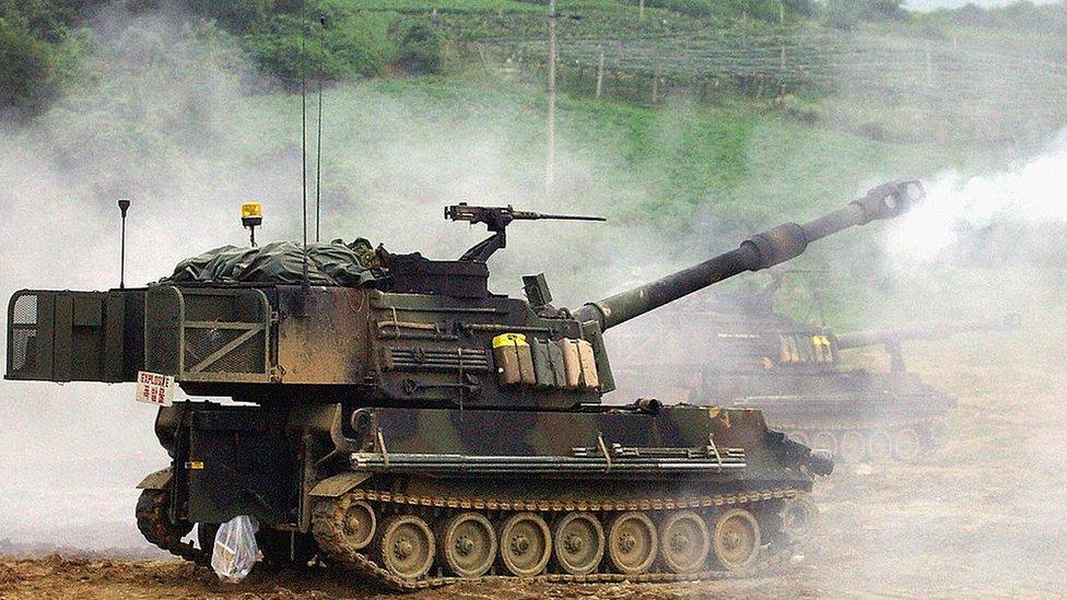 M109A6自走炮