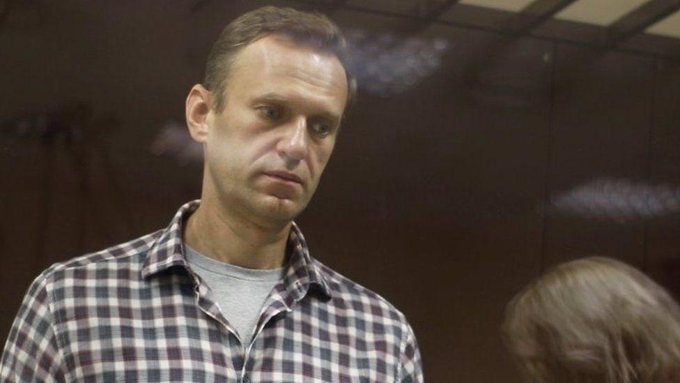 Alexei Navalny regresó a Rusia en enero y poco después fue detenido.