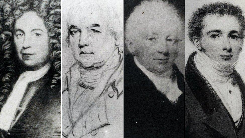John Earle, William Earle, Thomas Earle, Sir Hardman Earle