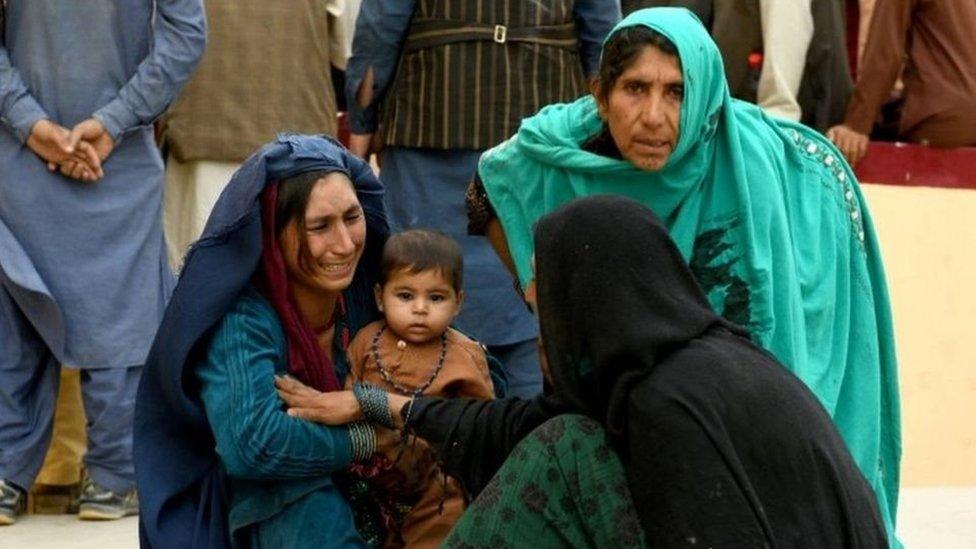 سيدات أفغانيات