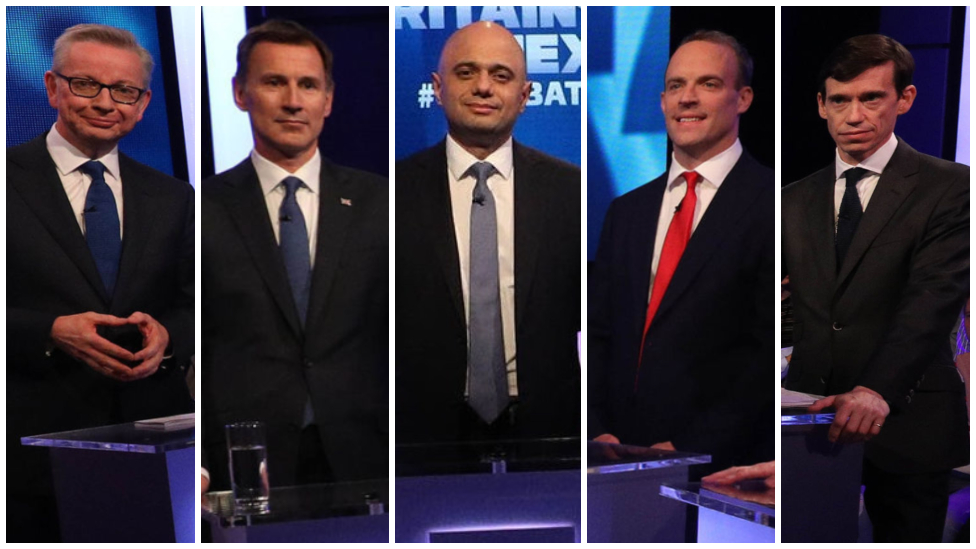 Tory leadership race: Contenders clash over Brexit