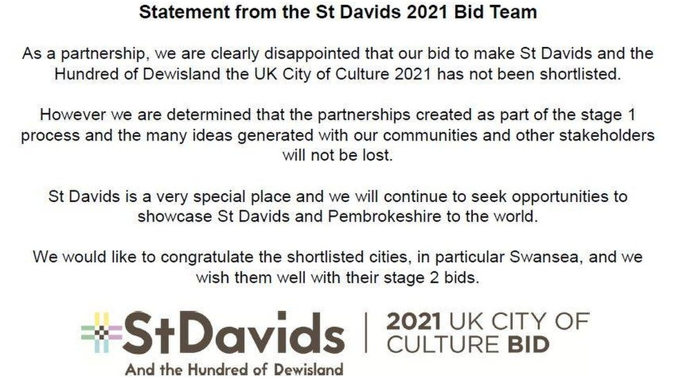Statement from St David's