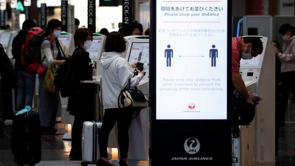 Bandara Haneda di Tokyo