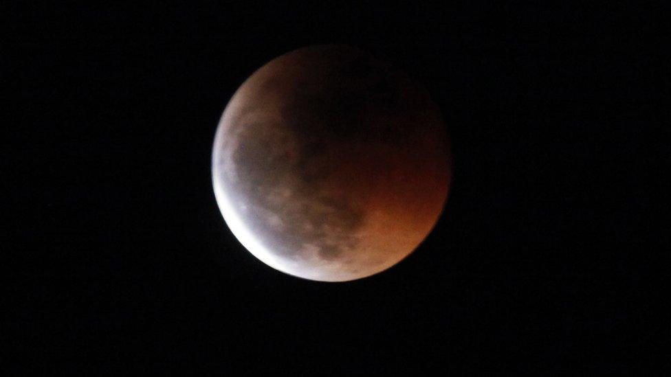 Un eclipse penumbral