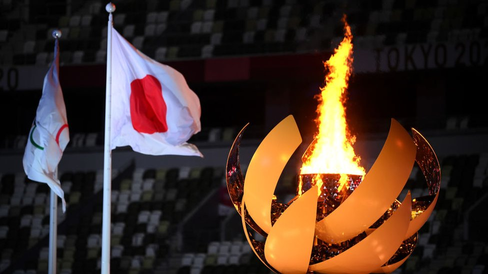 The Tokyo Olympics come to an end 8 August.