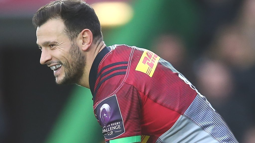Quins reach last eight with win in Agen