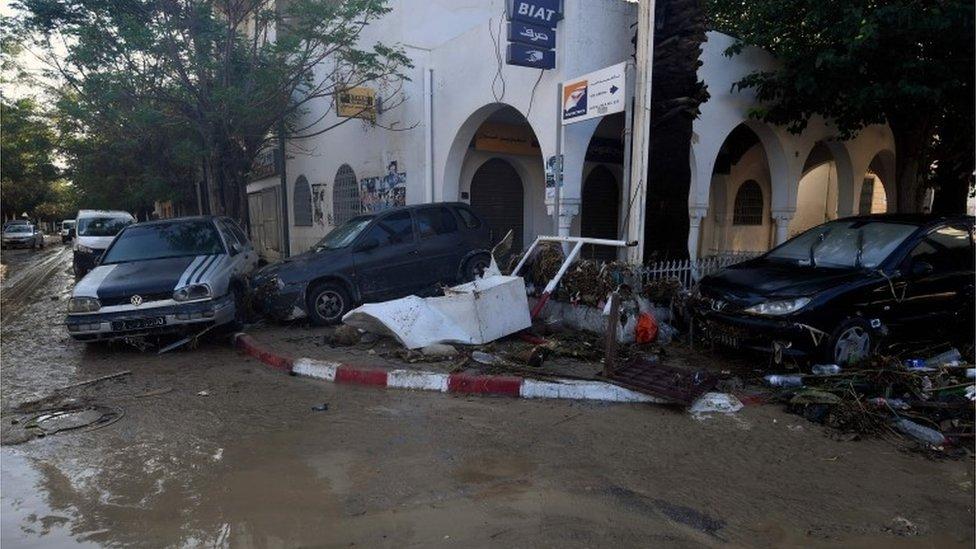 فيضانات في تونس