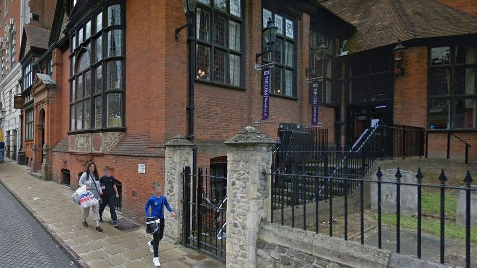 Old court cells used as set for porn film in Colchester