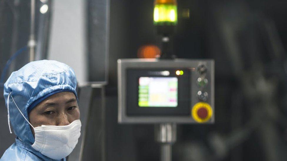 Desarrollo de la vacuna de covid-19 en China