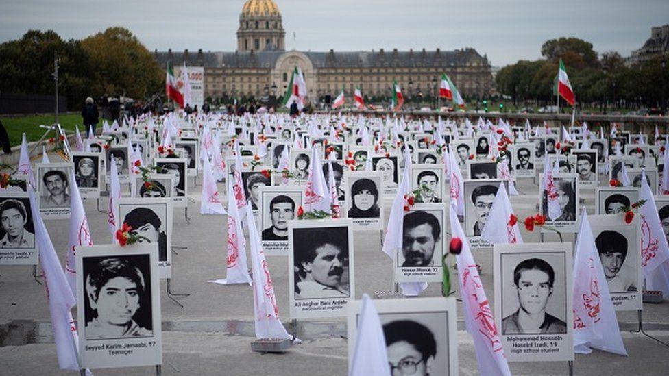 معارضون إيرانيون يحيون ذكرى السجناء الذين أعدموا