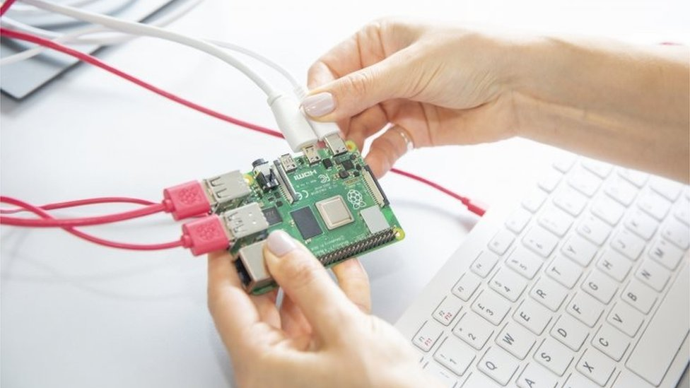 Una Raspberry Pi 4