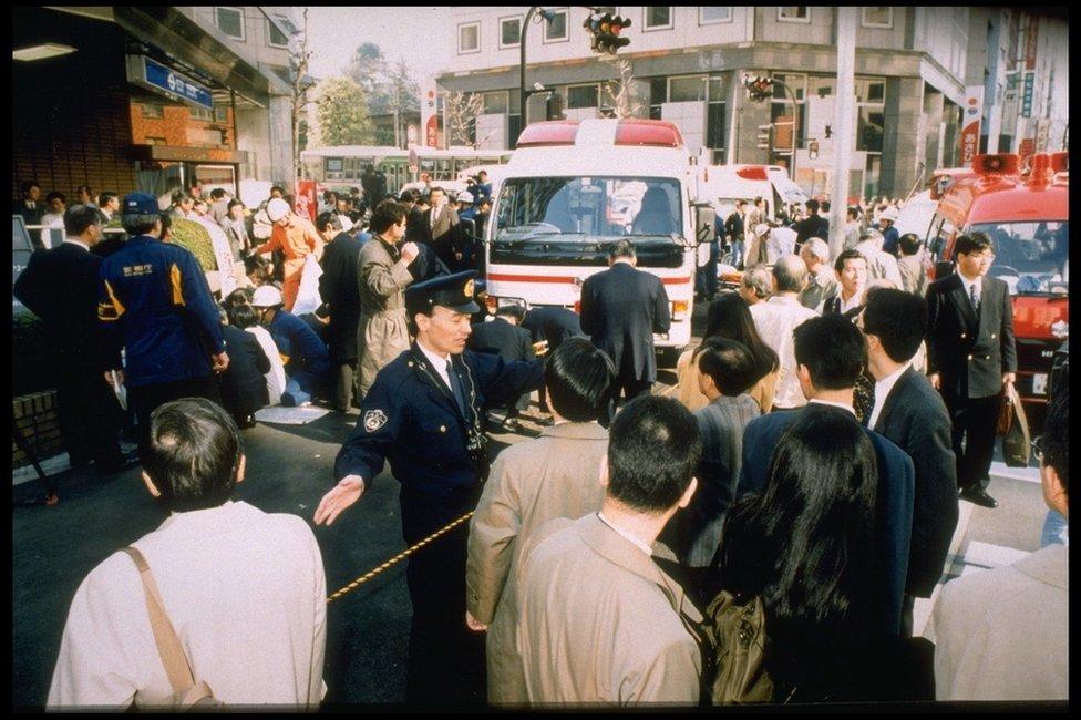 Tokio se paralizó durante el ataque.