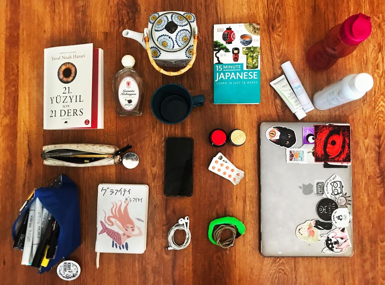 Lockdown essentials by Gizem Pala, Turkey