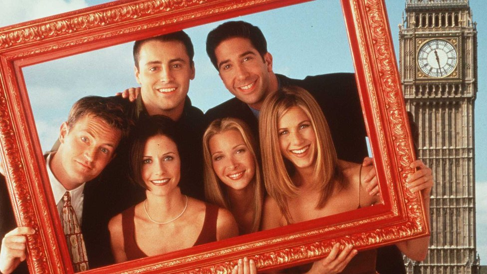 Serie de TV Friends.
